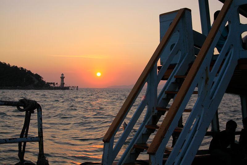 Тай Тайланд Патайя отдых море пляж 2009