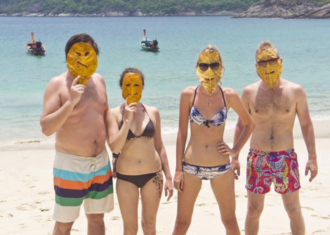 Тайланд Пхукет отдых море друзья