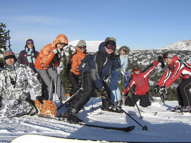 uri шерегеш друзья сноуборд сезон 2009