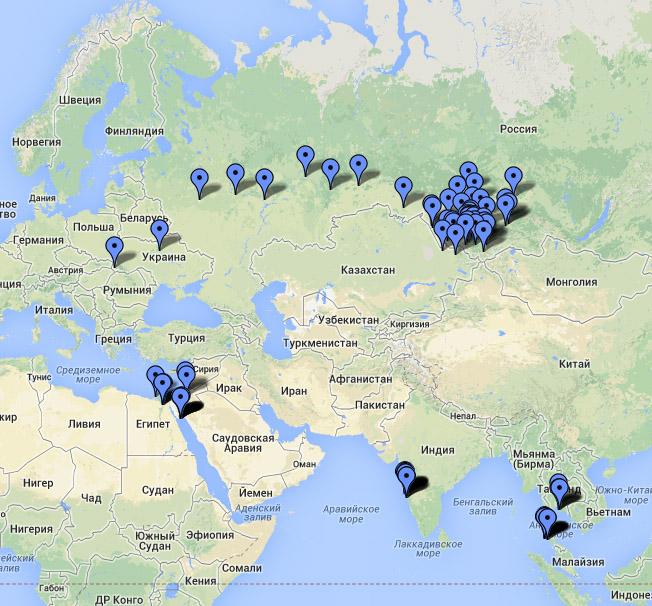 Моя личная карта познания мира