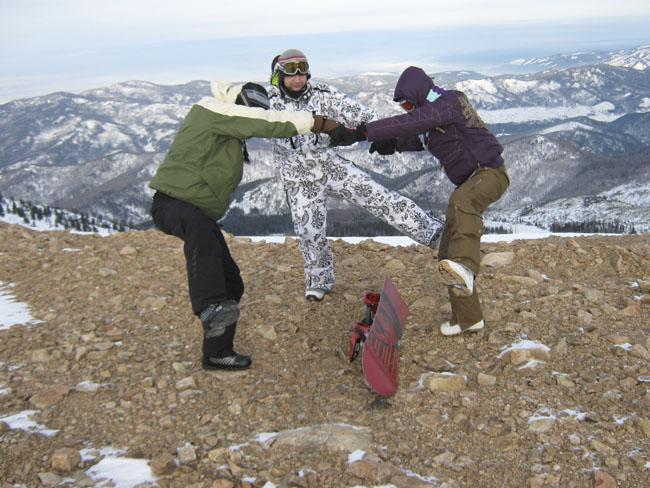 Хакасия Гладенькая сноуборд 2008